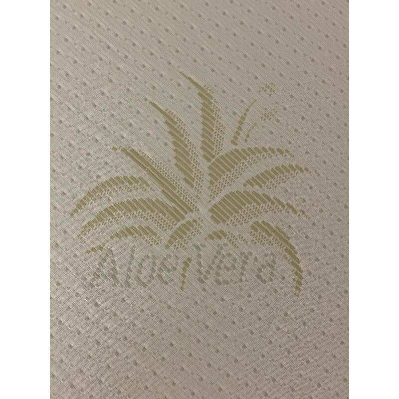 KING OF DREAMS Matelas bébé 60x120 cm Hauteur 9,5 cm - Tissu avec Aloe Vera - Déhoussable Housse Lavable à 40° + Alese impermeable Offerte - Hyppoallergénique