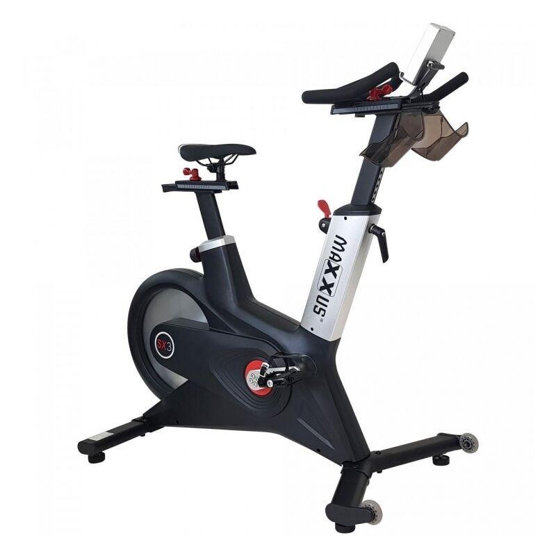 MAXXUS ® Vélo d'appartement Speedbike SX 3 - vélo d'intérieur, vélo de course   Cyclisme d'intérieur pour sportif avancé - Maxxus