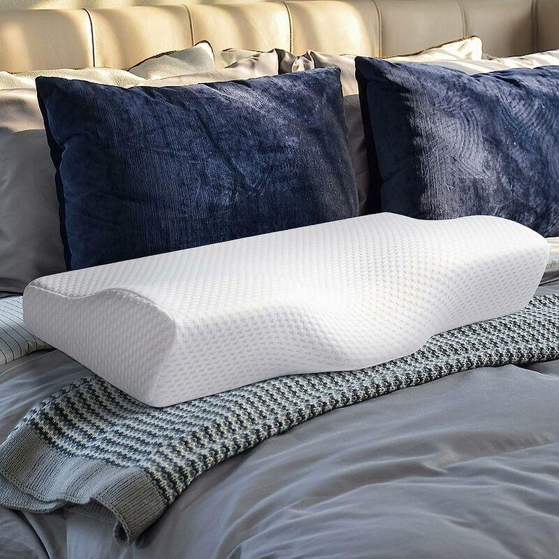 Briday - Oreillers en mousse à mémoire de forme Oreillers de sommeil orthopédiques, oreiller cervical pour le soulagement de la douleur, oreiller