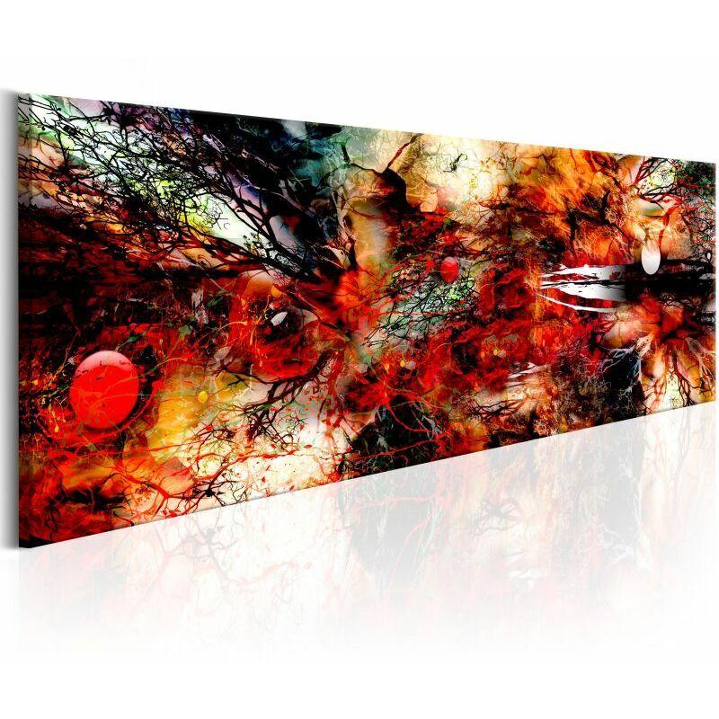PARIS PRIX Tableau Imprimé artistic Chaos 45 X 135 Cm - Paris Prix