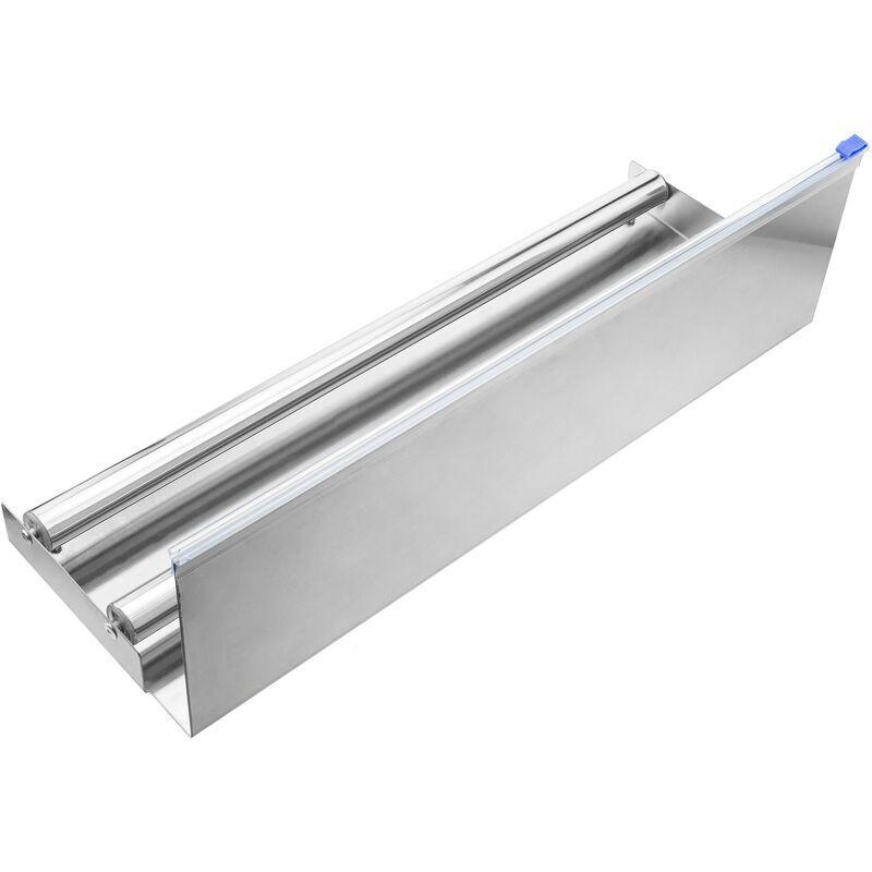 PrimeMatik - Distributeur de bobine de film plastique ou papier 450 mm pour emballage