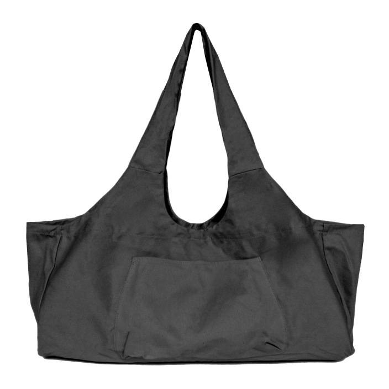 Thsinde - Sac de Tapis de Yoga Tissu léger Confortable,noir