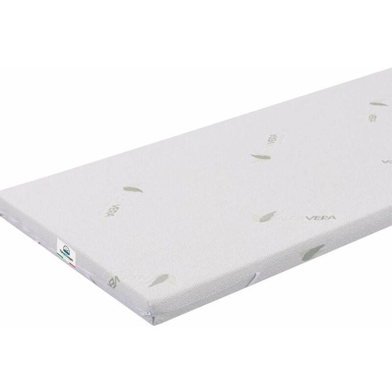 Time 2dream - Matelas canapé-lit simple à mémoire de forme avec revêtement d'aloe vera 90x200 Top3