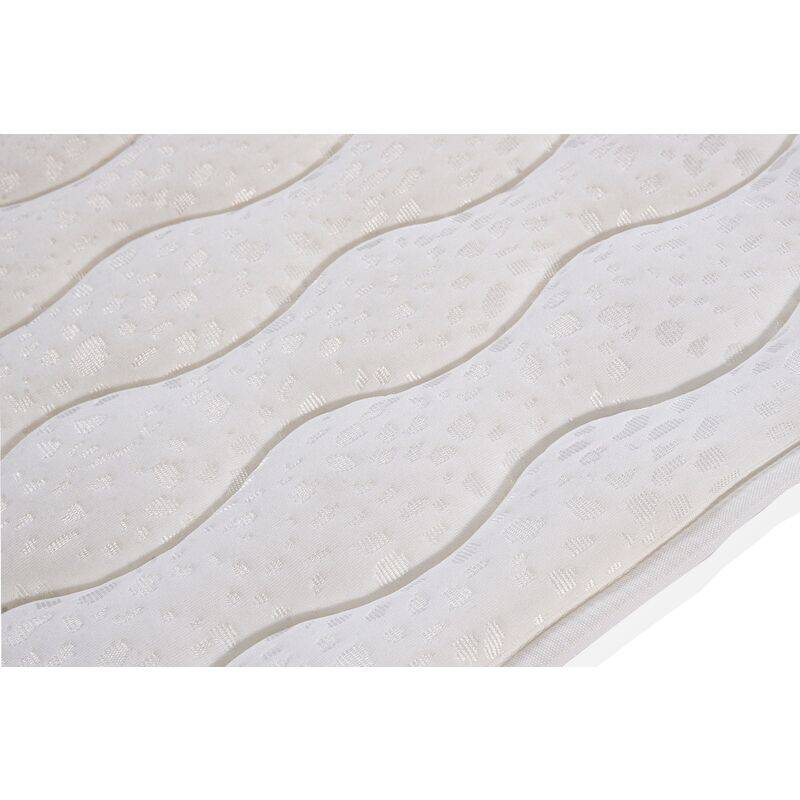 Kimbed - Surmatelas tissu aloe vera 80x180 cm - 3 cm d'épaisseur TANA