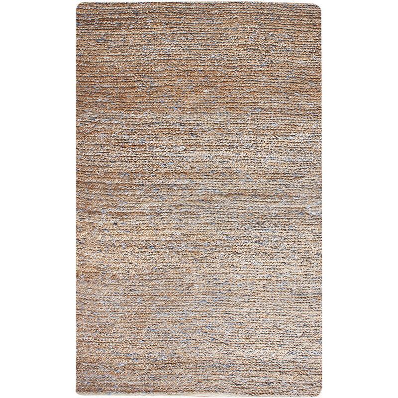 THE RUG REPUBLIC Tapis en chanvre et laine Parry 230 x 160 cm - Naturel