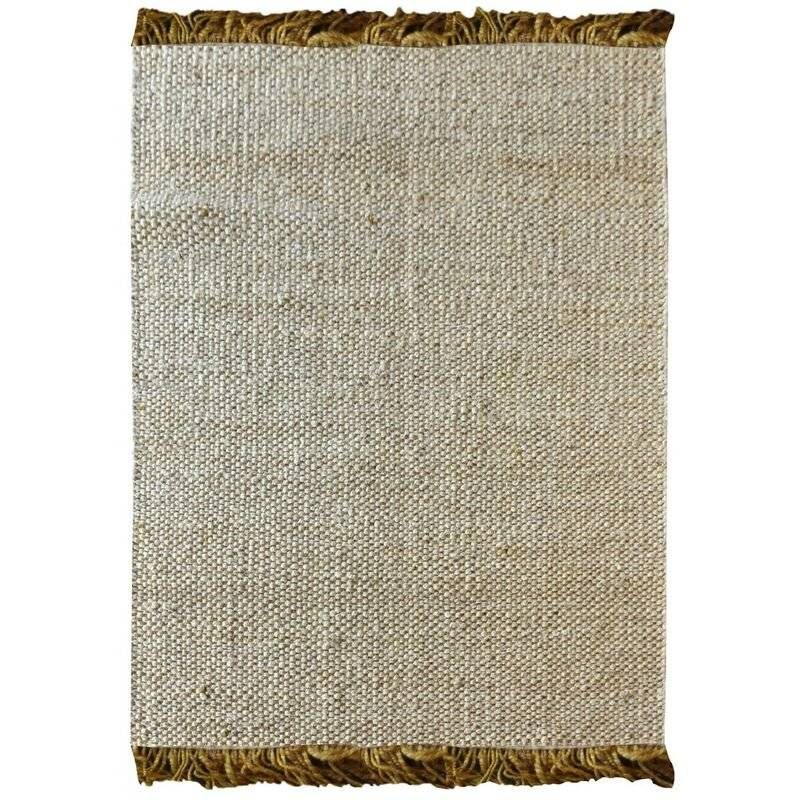 THE RUG REPUBLIC Tapis en chanvre Rohns Or - Or