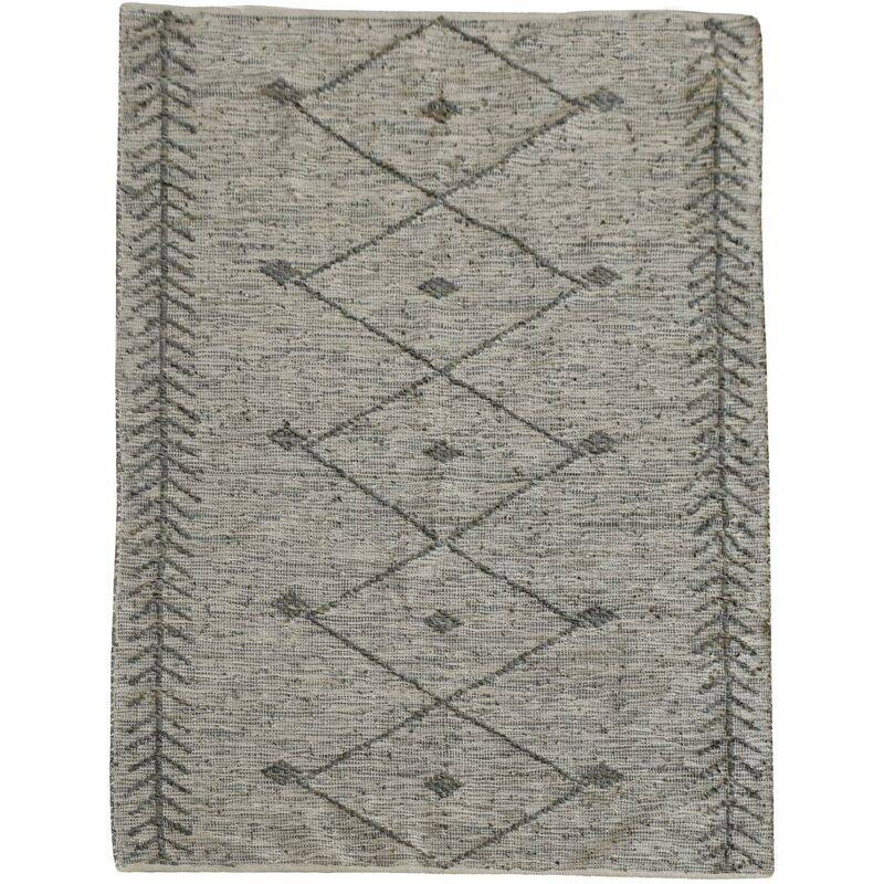 THE RUG REPUBLIC Tapis Léonie taupe 190 x 290 cm TAUPE - The Rug Republic