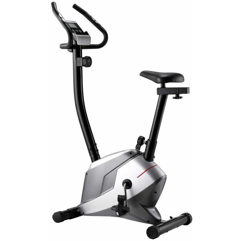 VIDAXL Vélo magnétique d'appartement avec mesure du pouls