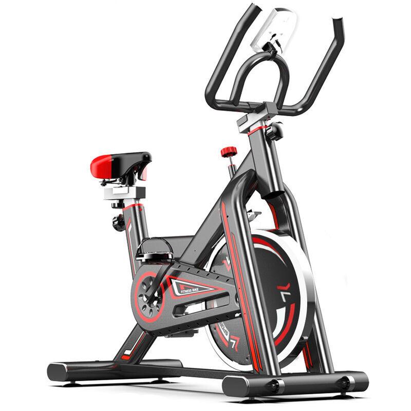 VINTEKY Vélo d'appartement Appareil cyclisme d'intérieur à Domicile avec Moniteur Numérique Fitness entraîneur de Jambe Multifonctionnel, Entraîneur de vélo