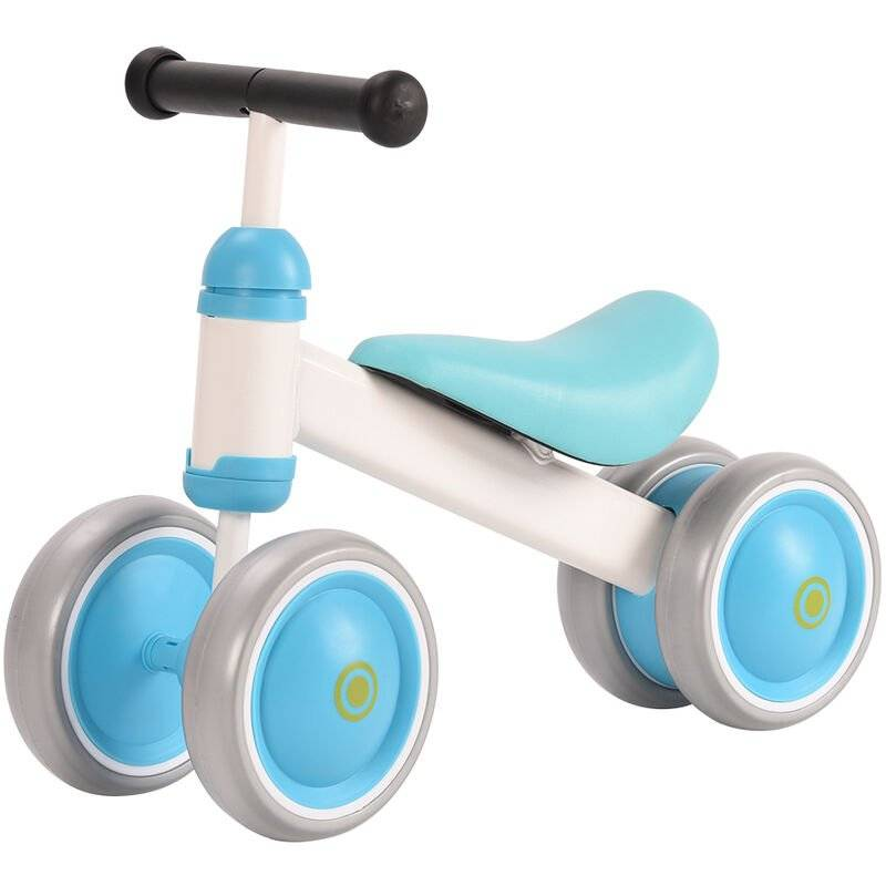 YONGQING Vélo d'équilibre Baby Balance Bikes Jouets pour bebes pour Garons Filles 10-36 mois Mignon tout-petit Premier velo Infant Walker Enfants Pas de