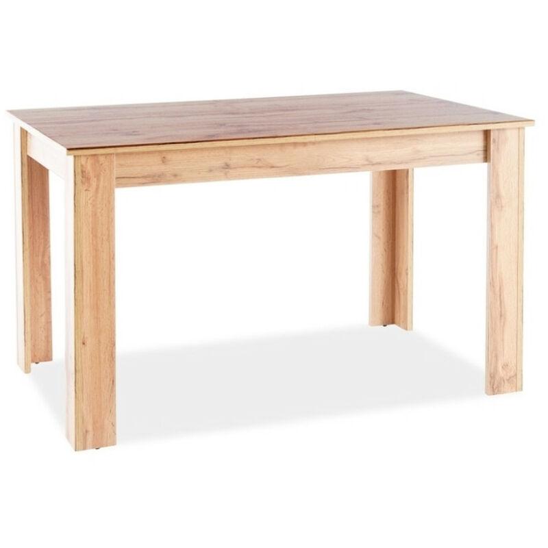 Ac-déco - Table 6 personnes - Avis - 120 x 80 x 75 cm - Panneau stratifié - Livraison gratuite