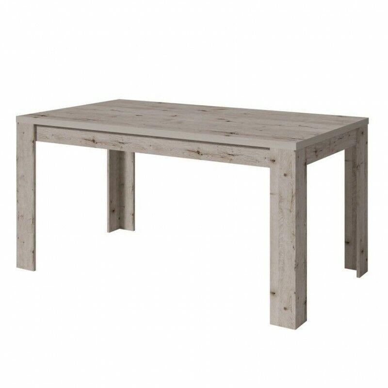 Alcos - Table salle manger 160 cm Lyon/Pozenane - Chêne