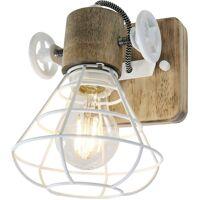 ANNE LIGHT & HOME Applique Rétro Salon Éclairage Bois Spot Cage Luminaire Réglable 1578W <br /><b>59.90 EUR</b> ManoMano