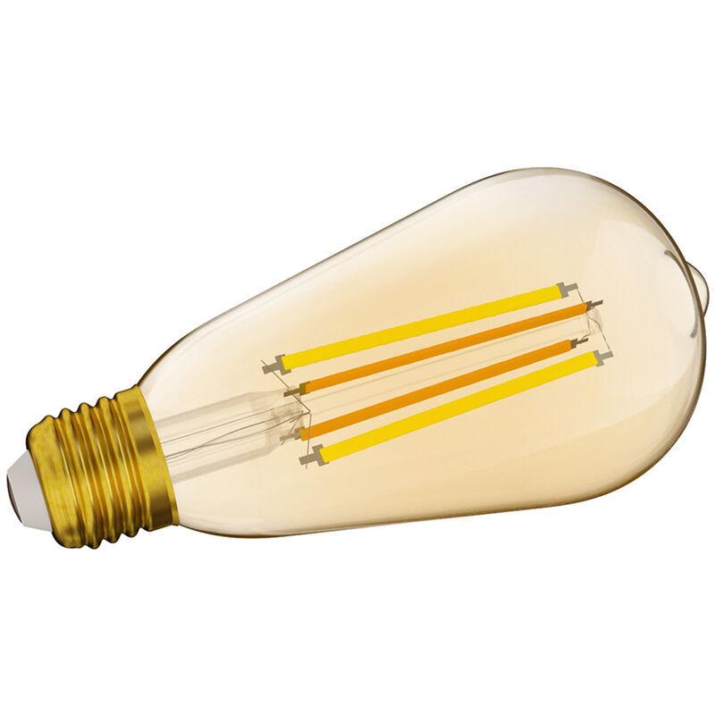 SONOFF Ampoule a filament LED intelligente eWelink Wifi Ampoules a intensite variable E27 Ampoules a telecommande bicolore compatibles avec Amazon Alexa et