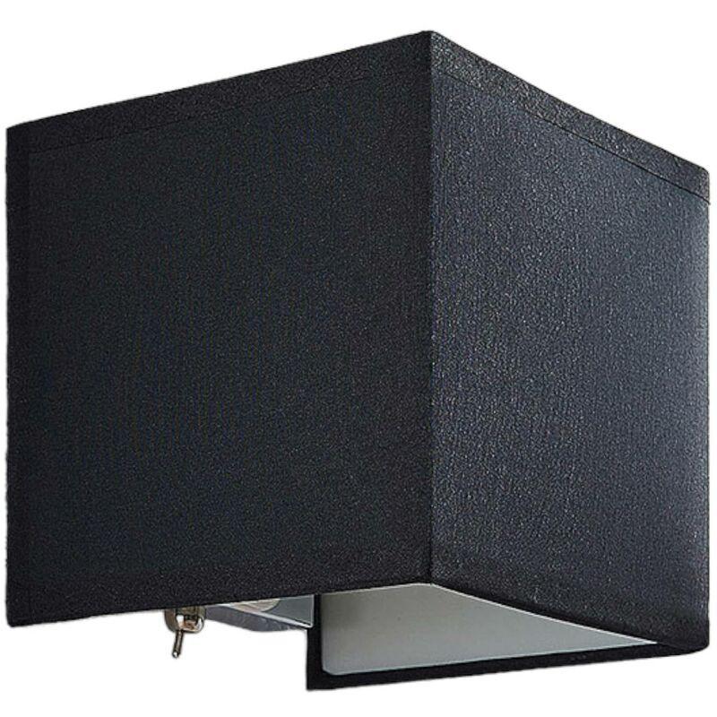 LINDBY Applique Murale Tissu à intensité variable 'Adea' en textile pour chambre à coucher