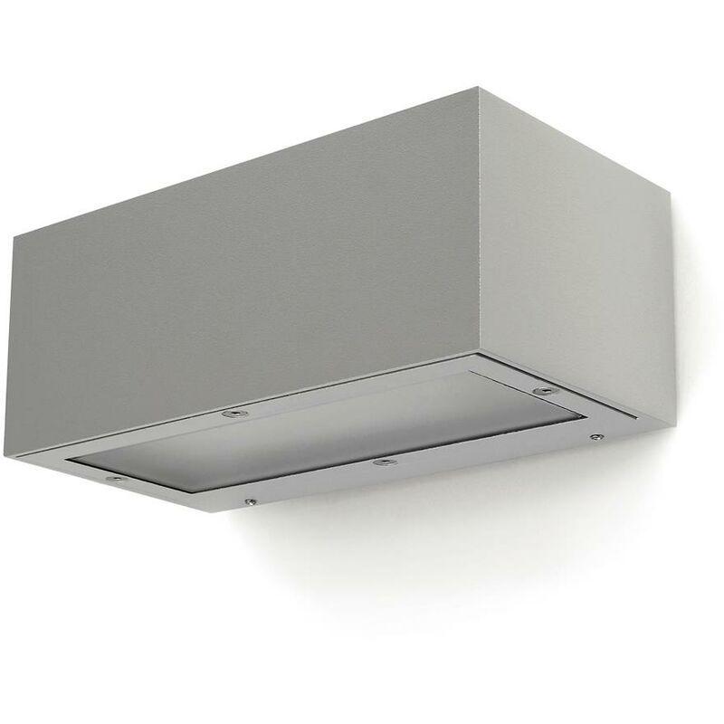 Novolux - Appliquer ISORA IP65 LED SMD 2x8.70W 3000K Gris DOPO 157D-L01G9B-03
