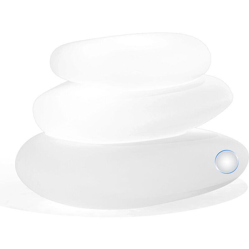 Idralite - Lampe à poser de jardin en résine mod. Eden 75X62X47 h lumière blanche