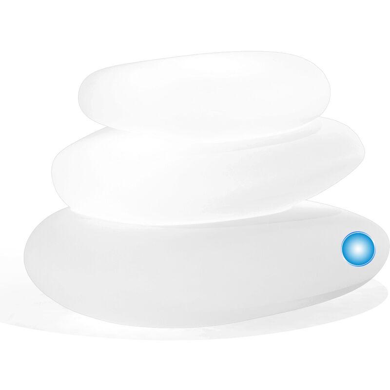 Idralite - Lampe à poser de jardin en résine mod. Eden 75X62X47 h lumière bleue