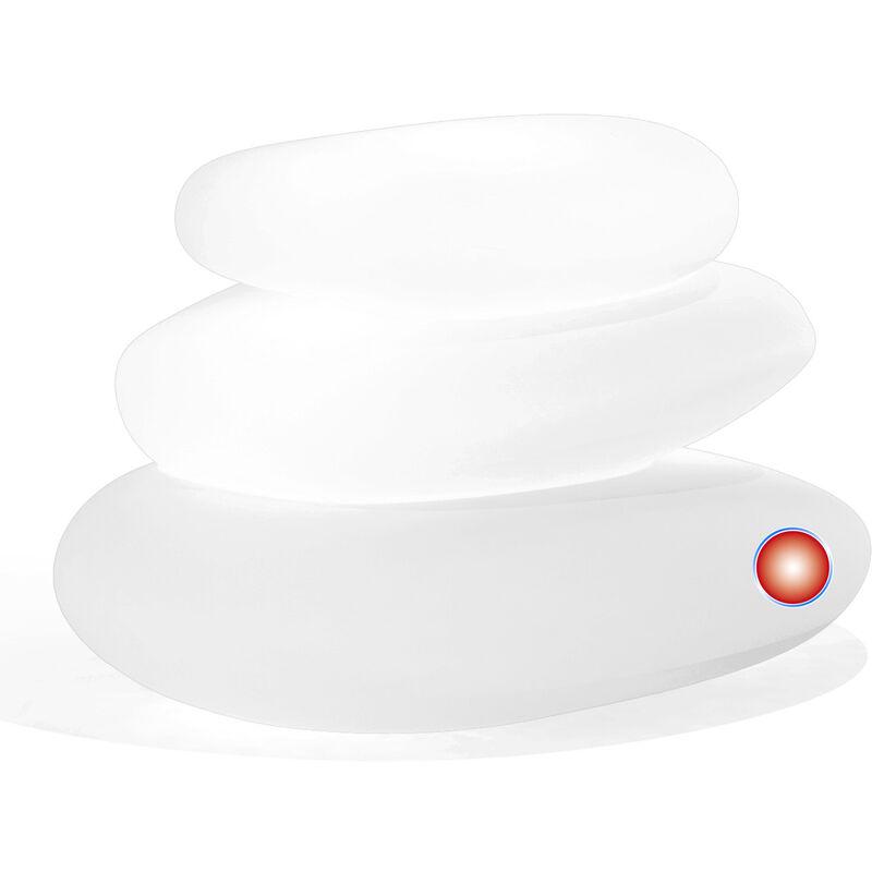 Idralite - Lampe à poser de jardin en résine mod. Eden 75X62X47 h lumière rouge