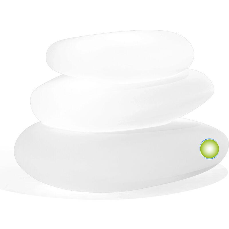 Idralite - Lampe à poser de jardin en résine mod. Eden 75X62X47 h lumière verte