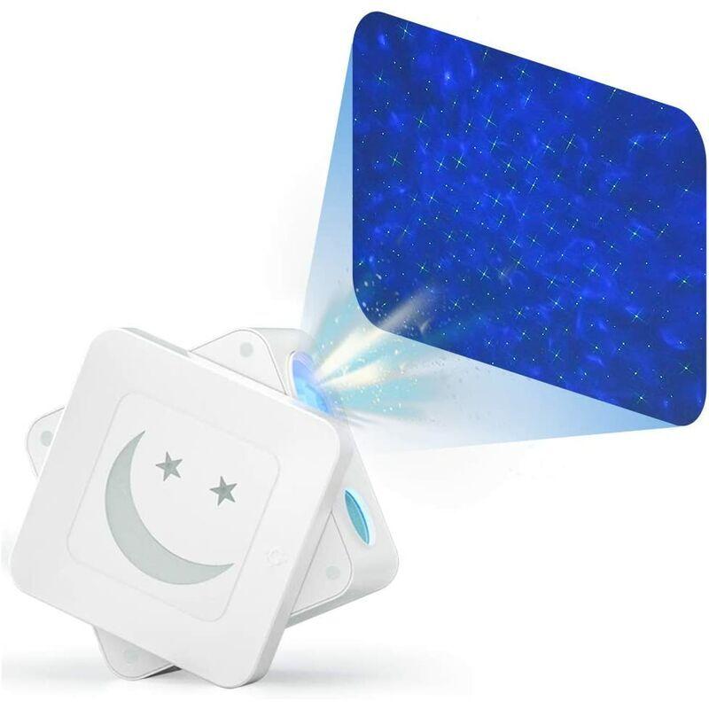 THSINDE Goodrich Star Projector Veilleuse, Laser étoilé vert et Lampe de projection colorée de vagues océaniques avec commande vocale, Projecteur de ciel à