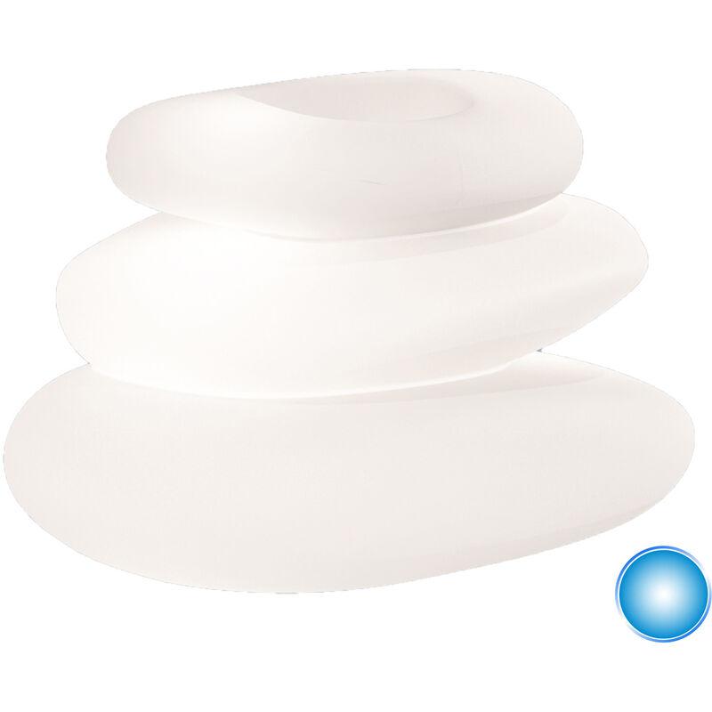 Idralite - Lampada Eden luce blu in resina 75x62 cm