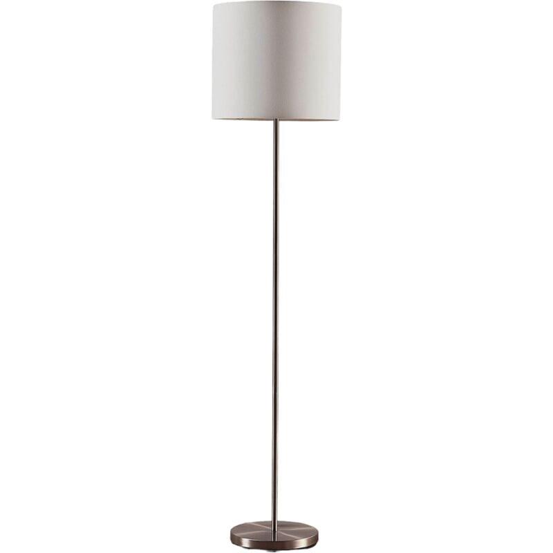 Lindby - Lampadaire Tissu 'Parsa' en textile pour chambre à coucher