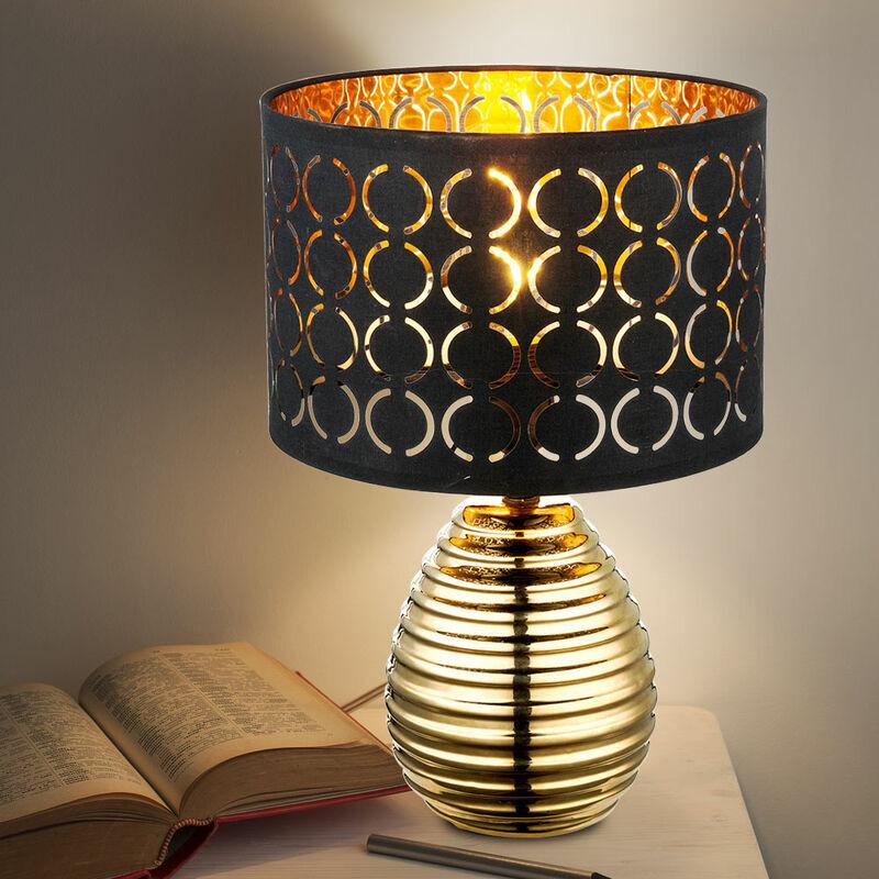 ETC-SHOP Lampe de table d'écriture design chambre à coucher veilleuse lampe de lecture dans un ensemble comprenant des ampoules LED