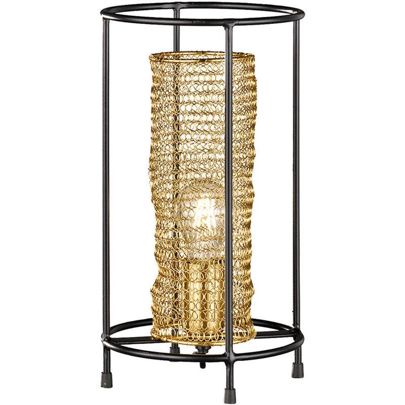 Etc-shop - Lampe de table salle à manger abeilles design nid d'abeille lampe OR DIMMABLE dans un set comprenant des ampoules LED RGB