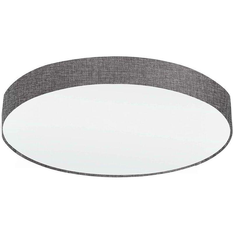 EGLO Lampe pasteri lampe de location en sol attacco grande e27 7x25w materiel metal gris couleur gris 97617
