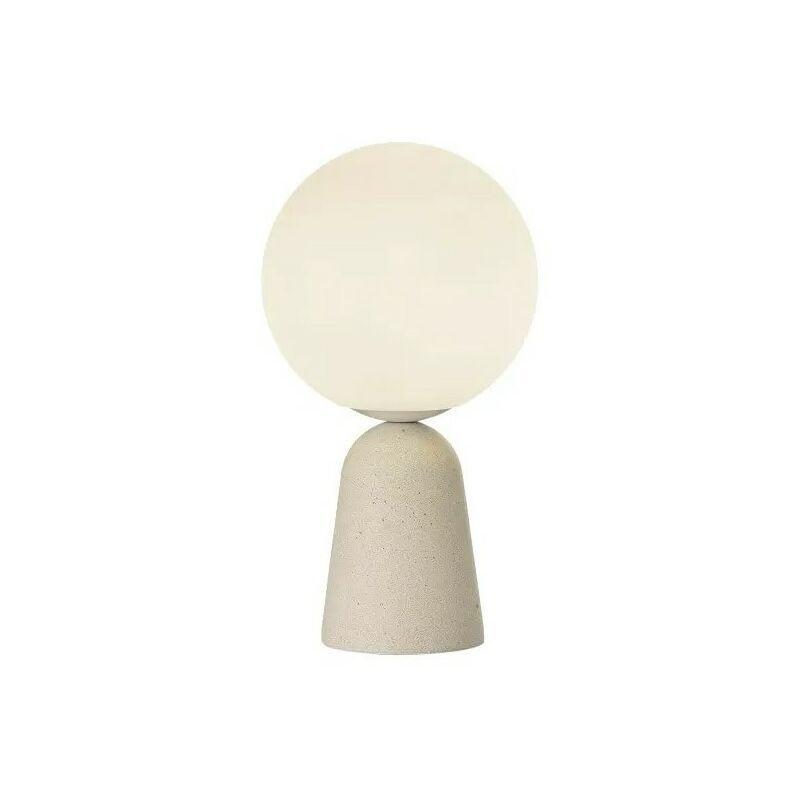 B-LEUCHTEN LUMINAIRE DESIGN Lampe à poser Hoby béton sable GM - Beige