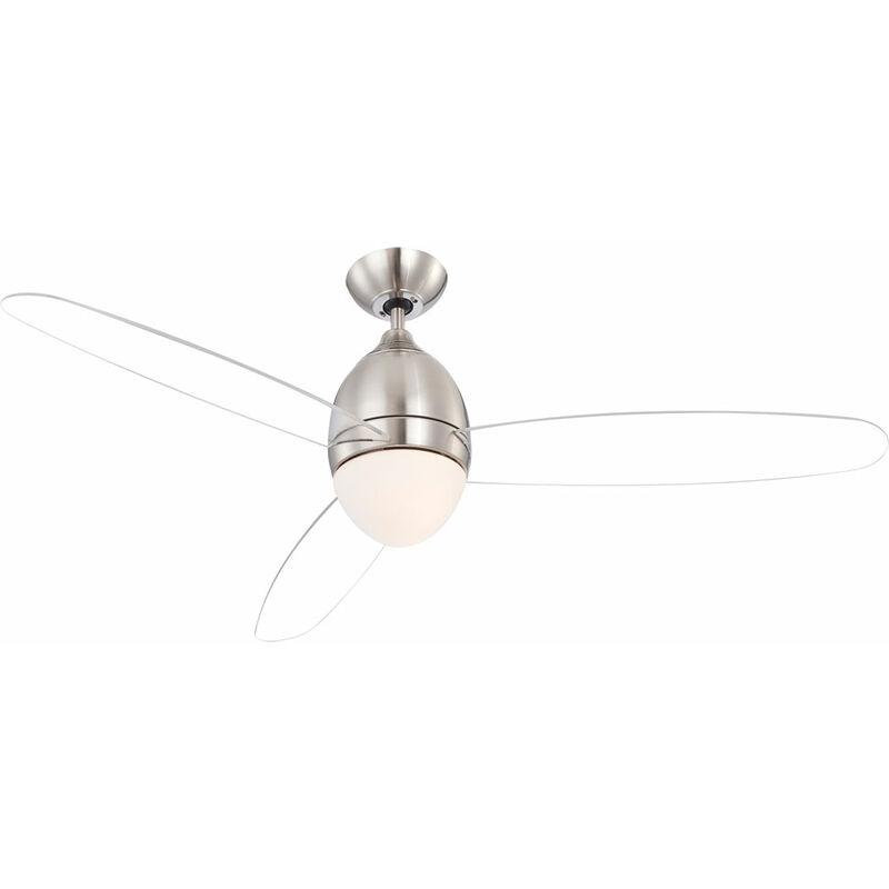 ETC-SHOP Lampe de ventilateur de plafond TÉLÉCOMMANDE Lampe de refroidisseur d'air dimmable dans un ensemble comprenant des lampes LED RVB