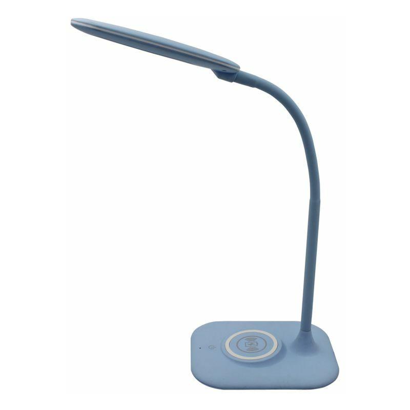 Paris Prix - Lampe à Poser Led stuttgart 55cm Bleu Azur