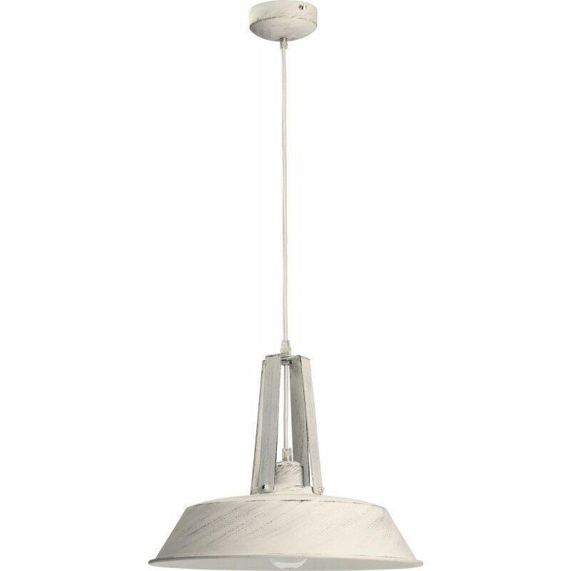 PARIS PRIX Lampe Suspension Design alvar 46cm Crème - Paris Prix