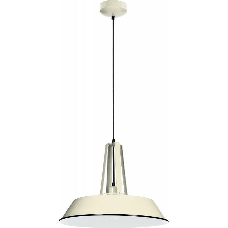 PARIS PRIX Lampe Suspension Design alvar 46cm Ivoire - Paris Prix