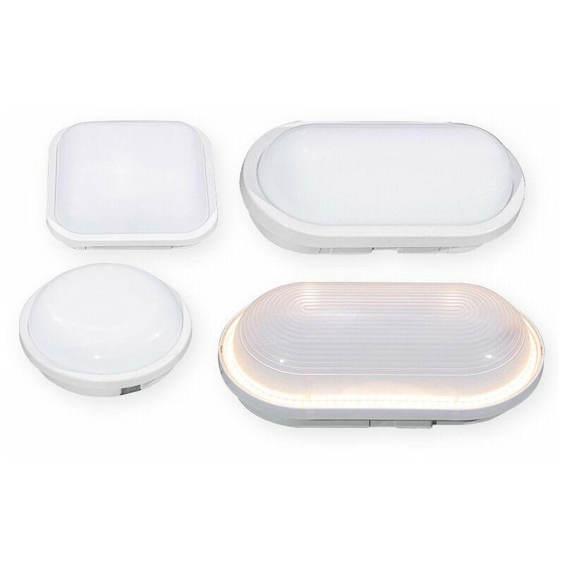 Thsinde - Plafonnier LED 24 W 1440 lm - Étanche - IP65 - 4000 K - Sans scintillement - Pour salle de bain, chambre à coucher, salon, chambre