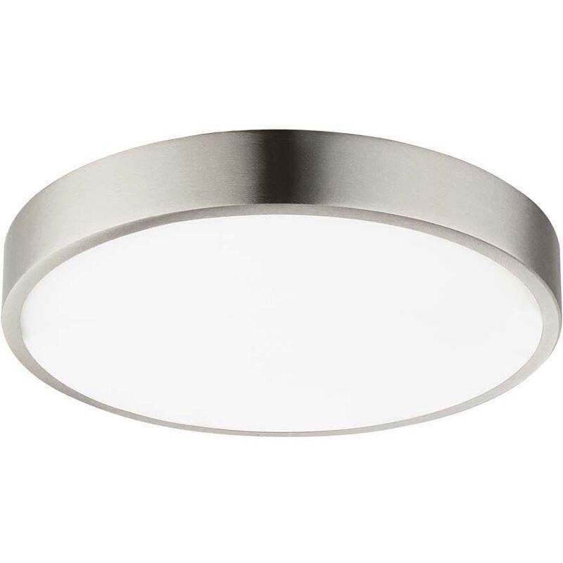Globo Plafonnier de salle de bain LED luminaire dimmable en aluminium opale éclairage chambre à coucher