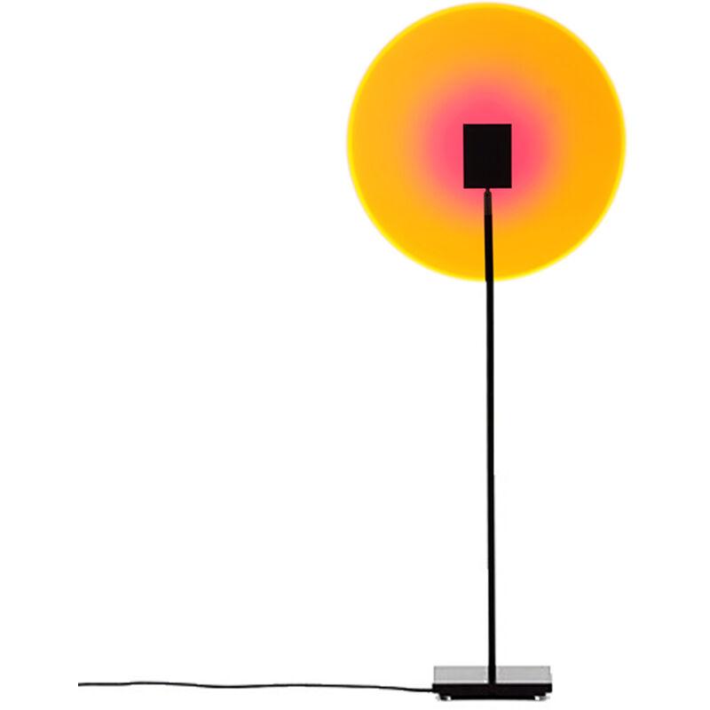 Asupermall - Projecteur De Coucher De Soleil A Led Maison Veilleuse Lampadaire Decorations Murales Lumiere Photographie Diffusion En Direct Lampe De