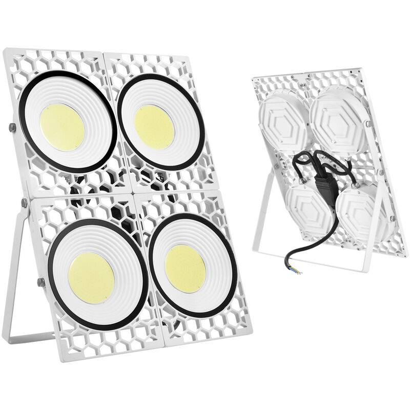 DIYOZZY Projecteur Nid d'abeille 200W lumière blanche 220V