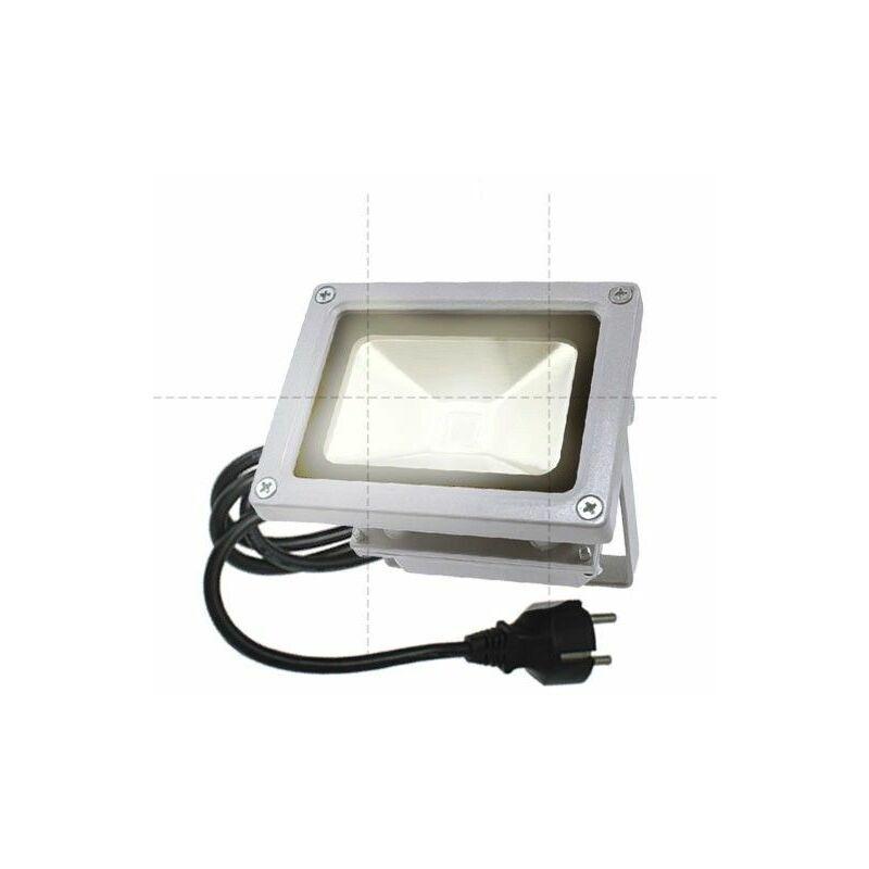 BYLED®-PRODUITS EN PROMOTION Projecteur LED extérieur étanche - 10W - 230V (Titan)   Température de couleur Blanc Chaud