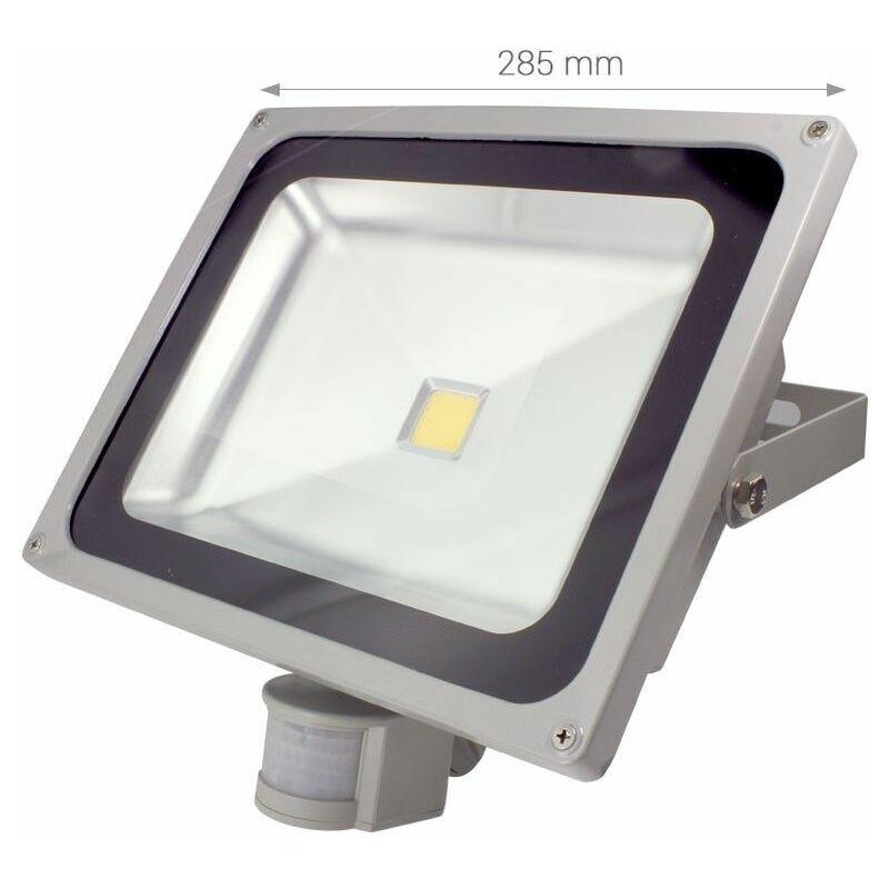 BYLED®-PRODUITS EN PROMOTION Byled ®-produits En Promotion - Projecteur LED extérieur à détecteur - 50W - 230V (Titan D 50)   Température de couleur Blanc Pur - Puissance (en