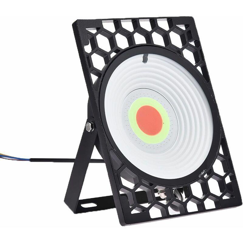 DIYOZZY Projecteur RGB en nid d'abeille avec télécommande et fonction de mémoire 220V