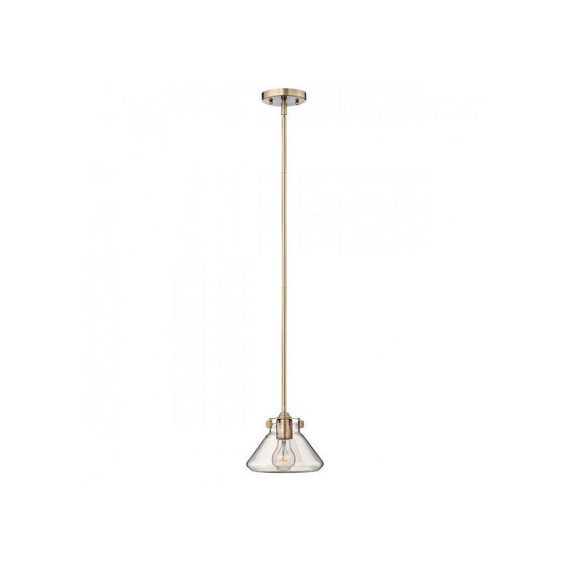 Elstead - Suspension Congress, couleur caramel brossé, 1 ampoule, 20 cm