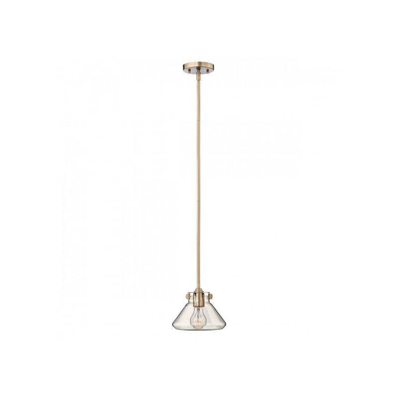 ELSTEAD Suspension Congress, couleur caramel brossé, 1 ampoule, 20 cm