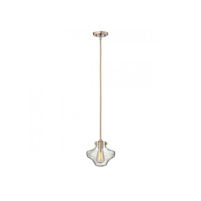 Elstead - Suspension Congress, couleur caramel brossé, 1 ampoule,, 22 cm