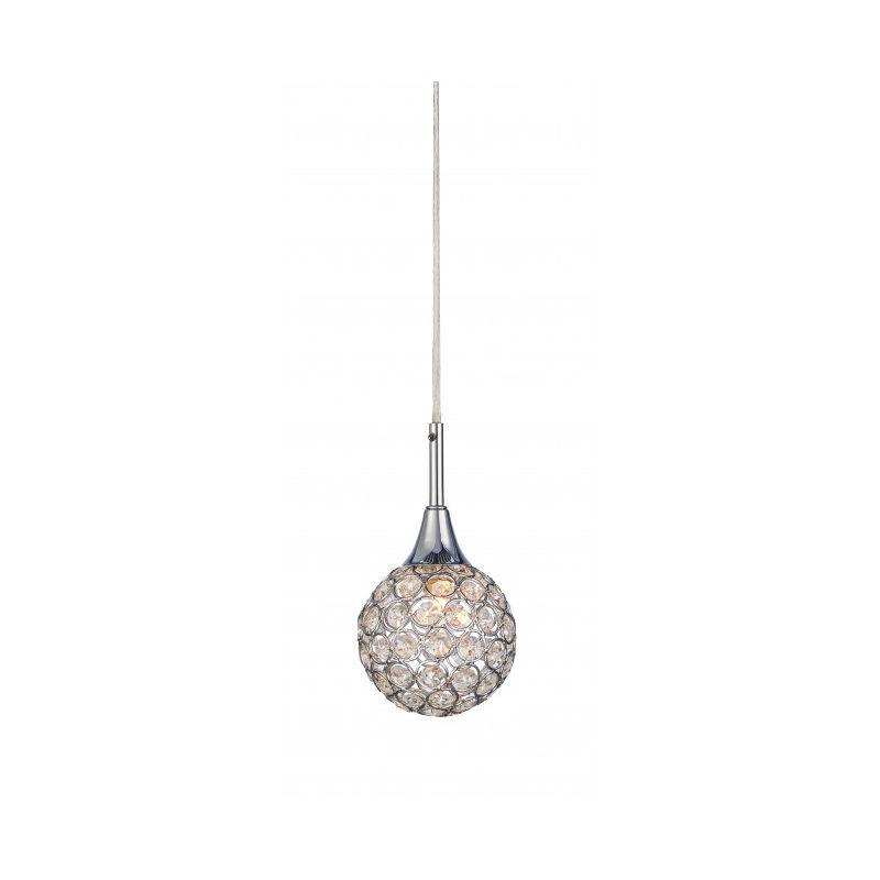 Markslojd - Suspension en cristal CORA chromée 1 ampoule