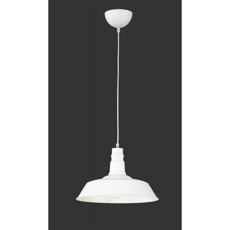 TRIO LIGHTING Suspension de location attacco grande e27 diamÈtre 36cm couleur blanche r30421001