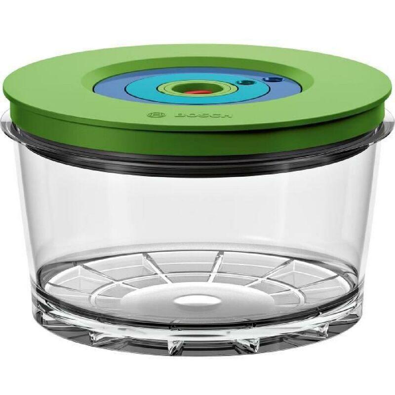 BOSCH - Blender sous vide 2-en-1 VitaMaxx - boite de conservation sous vide 1.5 l - indicateur de date