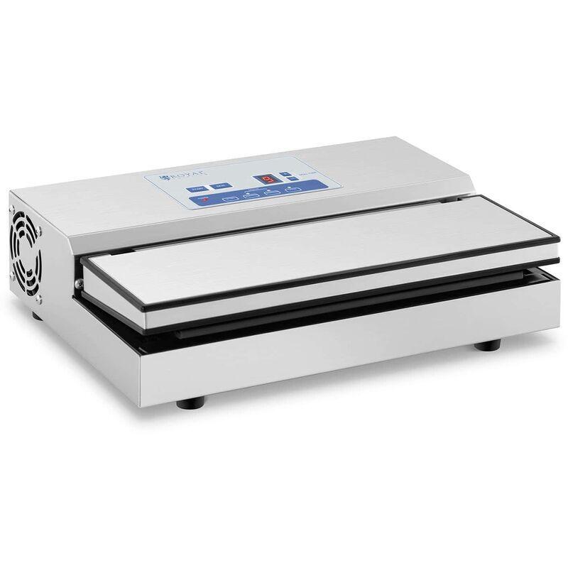 ROYAL CATERING Machine Sous Vide Alimentaire Appareil De Mise Sous Vide Scelleuse Portable 440W