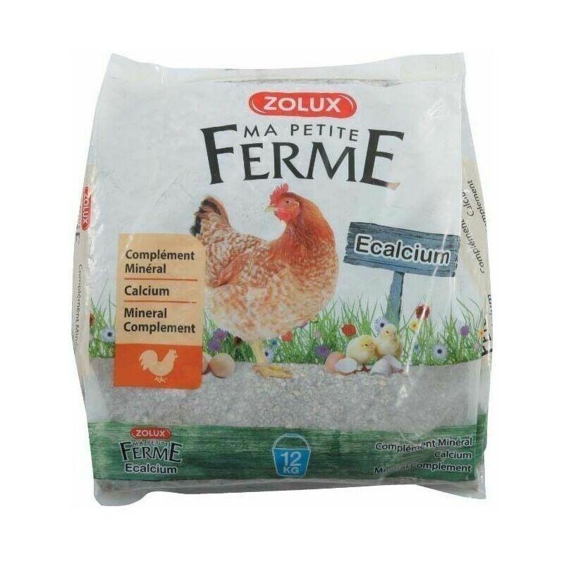 ZOLUX Complément alimentaire minéral Ecalcium 12 kg